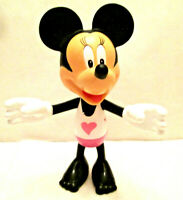 "2010 Minnie Mouse, By Mattel, Disney Figure with Movable Arms - 5 1/4"" Tall"