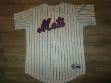 Mike Piazza 2000 New York Mets MLB Majestic Premier Sewn Jersey LG L mens