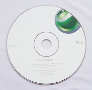 Sony Ericsson T610 PC Suite CD User Manual Guide