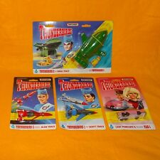 VINTAGE 1992 MATCHBOX THUNDERBIRDS 1 2 3 4 & FAB 1 VEHICLES LOT MOC MINT CARDED