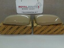 Toyota Tacoma 16-17 Quick Sand 4V6 Outer Mirror Covers Set W/ TS Genuine OEM