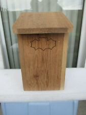 New Bat House - Outdoor Bat Box Shelter with Large 4 Chamber - Handcrafted