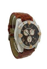Roberto Cavalli R7251616055 Diamond Time Men's Chronograph Date Crocodile Watch
