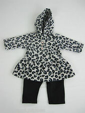Carter's Baby 2 Piece Outfit Set sizes Newborn 3 6 9 12 18 24 months Black White