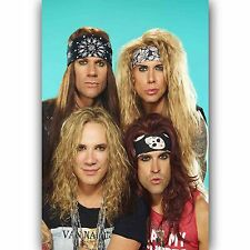 Steel Panther Music Custom Silk Poster Wall Decor 20x13 Inch