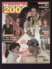 NOVELLA 2000 44/1999 MICHAEL JACKSON VERSACE VENTURA FABIO VOLO PELLIZZARI CHER