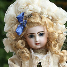 JUMEAU LEOPOLD LAMBERT c1880 AUTOMATION BISQUE DOLL TETE DEPOSE CLOSED MOUTH