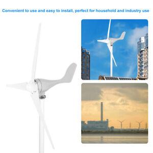 500W DC12V 3 pales Éoliennes Générateur d'énergie éolienne Kit générateur FR
