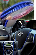 BLUE 5M FLEXIBLE TRIM FOR CAR INTERIOR EXTERIOR MOULDING STRIP DECORATIVE LINE