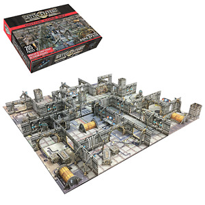 40k Terrain Gothic Core Set - Warhammer Necromunda Scifi Battle Systems THG