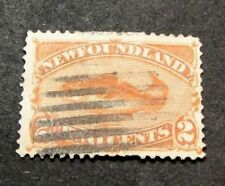 Newfoundland  Stamp Scott#  48 Fish 1880-96  C426