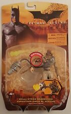 Lot of 3 Batman Begins Action Figures Mattel 2005 ~SCARECROW~RA'S AL GHUL~