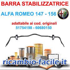 BARRA STABILIZZATRICE TORSIONE ANTERIORE ALFA ROMEO 147 156 - 51754198 60680150
