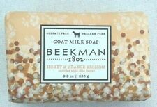 Beekman 1802 Goat Milk Bar Soap -  9 oz Honey & Orange Blossom w/ Shea Butter