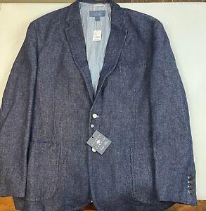 XXL Joseph Abboud Denim Jacket Sport Coat