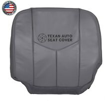 2003, 2004 Chevy Silverado 3500 Work Truck Driver Bottom Vinyl Seat Cover Gray