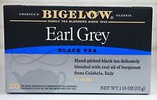 Bigelow Earl Grey Black Tea 1.18 oz 20 Tea Bags