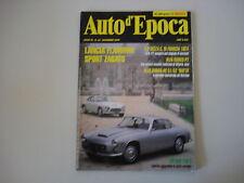 AUTO D'EPOCA 12/1994 LANCIA FLAMINIA SPORT/ALFA ROMEO AR MATTA/DATSUN 240 Z