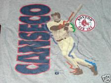 BOSTON RED SOX youth large Tshirt JOSE CANSECO baseball