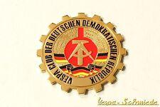 """VESPA IN METALLO-TARGHETTA """"VESPA CLUB della RDT"""" - Club GDR GERMANIA BRD emblema"""