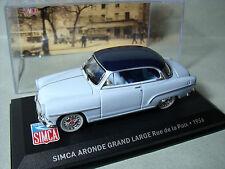 SIMCA  ARONDE  GRAND  LARGE  1956   SERIE  PRESSE  1/43