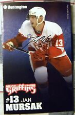 Detroit Red Wings Jan Mursak Auto Grand Rapids Griffins Magazine Photo