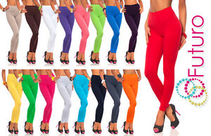 Full Length Cotton Leggings All Colours All Sizes  Active Pants Sport Trousers