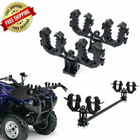ATV Gun Rack Double Bow Utility Four Wheeler Hunting Tool Storage Rhino Grip NEW