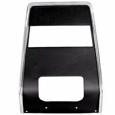 1967 1968 Chevy Camaro Center Dash Panel Black without AC & Radio Hole Dynacorn