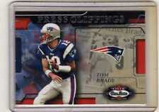2002 Fleer Box Score Press Clippings #11PC Tom Brady New England Patriots Card