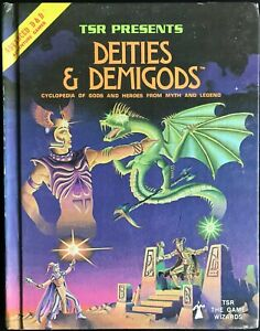 Deities and Demigods AD&D source book, 2nd edition w/Cthulhu
