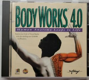 Body Works 4.0 Human Anatomy Leaps to Life (PC CD-ROM, 1995)
