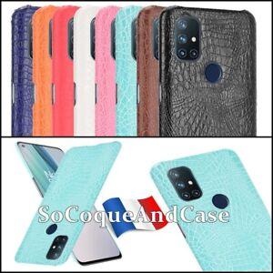 Etui Housse coque Fashion Crocodile Skin Texture Case OnePlus Nord N10, N100