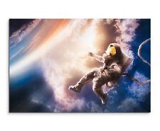 Wandbild Weltall Weltraum Space Schwerelos Astronaut auf Leinwand