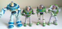 Disney Pixar Toy Story Buzz Lightyear Figures Bundle Tim Allen To Infinity