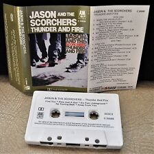 JASON AND THE SCORCHERS     - THUNDER AND FIRE -                   Cassette Tape