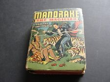 Mandrake the Magician and the Flame Pearls-No.1418-1946 BIG LITTLE BOOK.4.5 VG+.