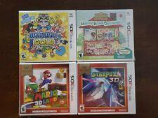 Nintendo 3DS Games Lot Of 4 Wario,Starfox,Animal Crossing,Super Mario New