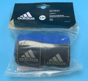 adidas Boxing hand wrap , 4.5m soft stretching BLUE