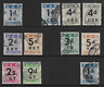 South Africa 1949 1d to 2s Railway Parcel single stamps Fine Used