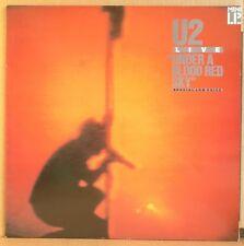 U2 Live under a blood red sky LP vinyl Depeche Mode Ultravox Rush Midnight Oil