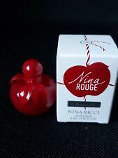 Miniature Nina Rouge. eau de Toilette. 4 ml