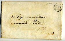 1772 lettera MILANO-S.ANGELO-t.PEDONE:VENDITA PODERI CONVENTO S.COLOMBANO-f701
