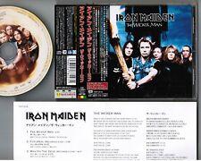"IRON MAIDEN The Wicker Man-1st press JAPAN 5"" CD TOCP-40138 w/COUPON OBI+INSERT"