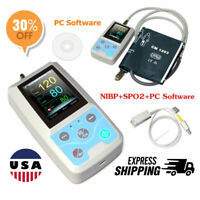 CONTEC Ambulatory Blood Pressure Patient Monitor Holter Oximeter Probe,Software
