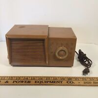 Montgomery Ward Airline Tube Radio GSE 1622A - Marbled Finish - parts of repair