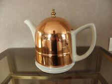lovely Tea Pot ornate vintage copper coffee pot old art deco Teapots  BONE china