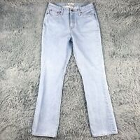 Taylor Stitch Light Wash High Rise Jeans Womens Sz 28 X 30.5