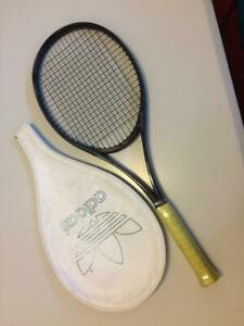 New rare ADIDAS NTP 90C tennis racket and cover  L3