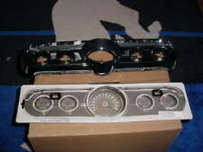 1966 Ford Mustang standard (black camers case)  instrument bezel and lens kit